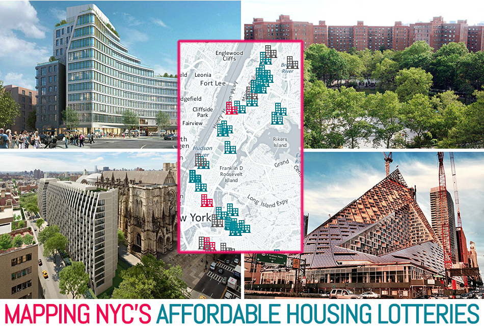 Map Where To Find Nyc S Current Affordable Housing Lotteries 6sqft