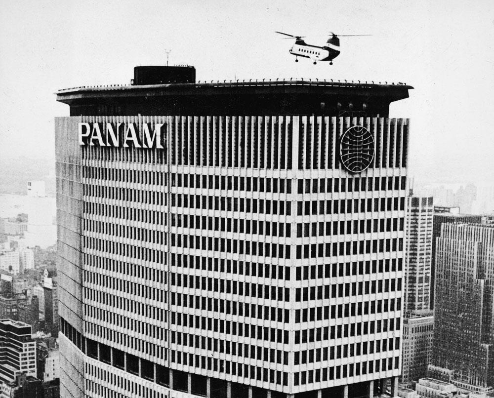 pan am helipad, metlife building, 200 park avenue