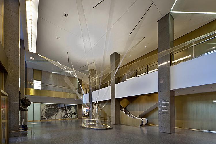 richard lippold flight sculpture at the metlife building