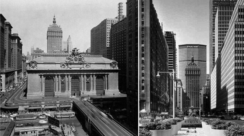 panam metlife building before and after
