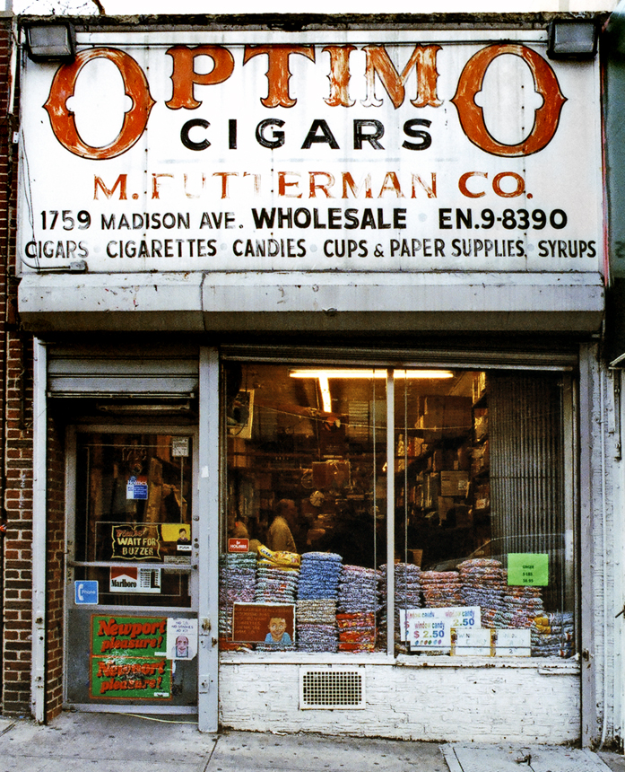 M. Futterman Co., Privilege Signs, James and Karla Murray, disappearing storefronts, NYC mom and pops