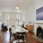 243 Dean Street, historic, fireplace, townhouse, boerum hill