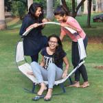 hammock rocking chair, MIT Institute of Design, Harshita Murudkar, Shivani Gulati, Mehak Philip