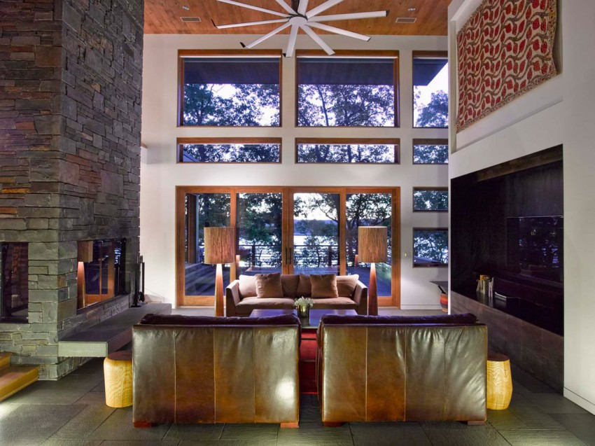 RiverBanks House, Foz Design, hudson valley,