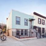 136 30th Street, shotgun house, facade, greenwood