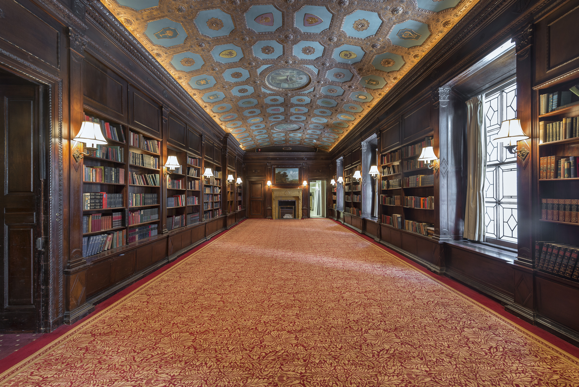 villard mansion, library