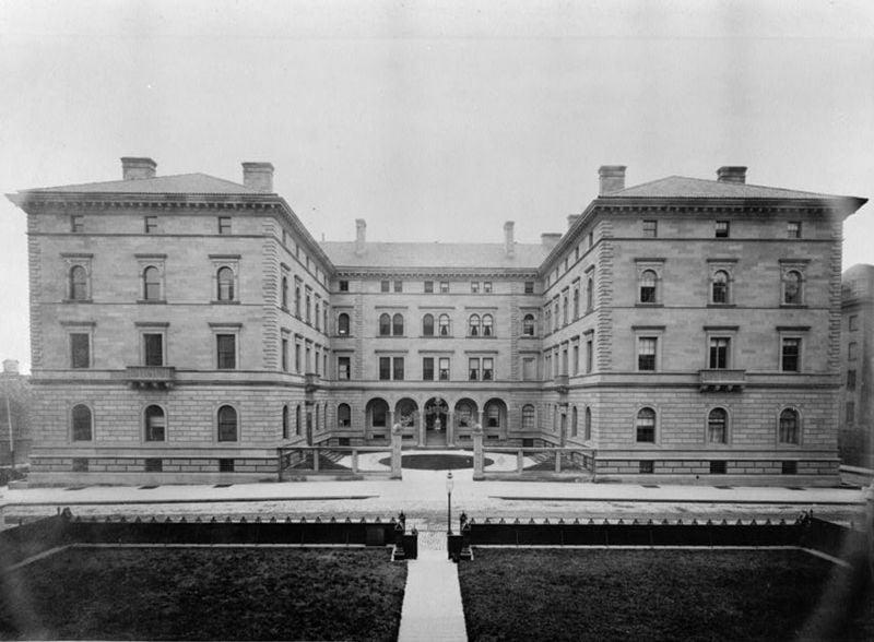 Villard Houses, exterior, historic