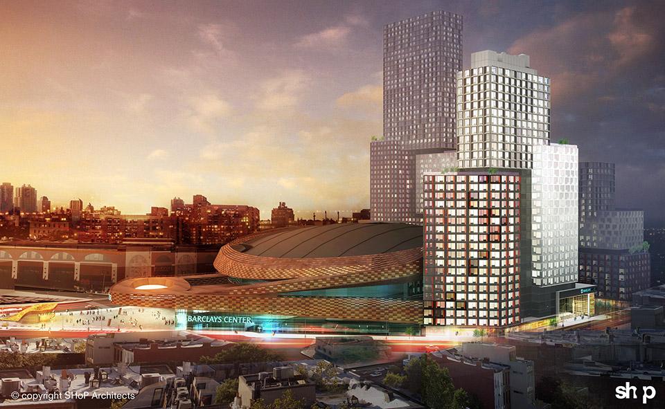 461 Dean Street, Pacific Park Brooklyn, SHoP Architects, B2 Tower