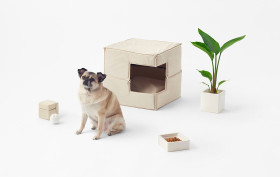 Nendo, Cubic Pet Goods, pets, pet furniture