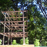Aluminaire House model skeleton frame
