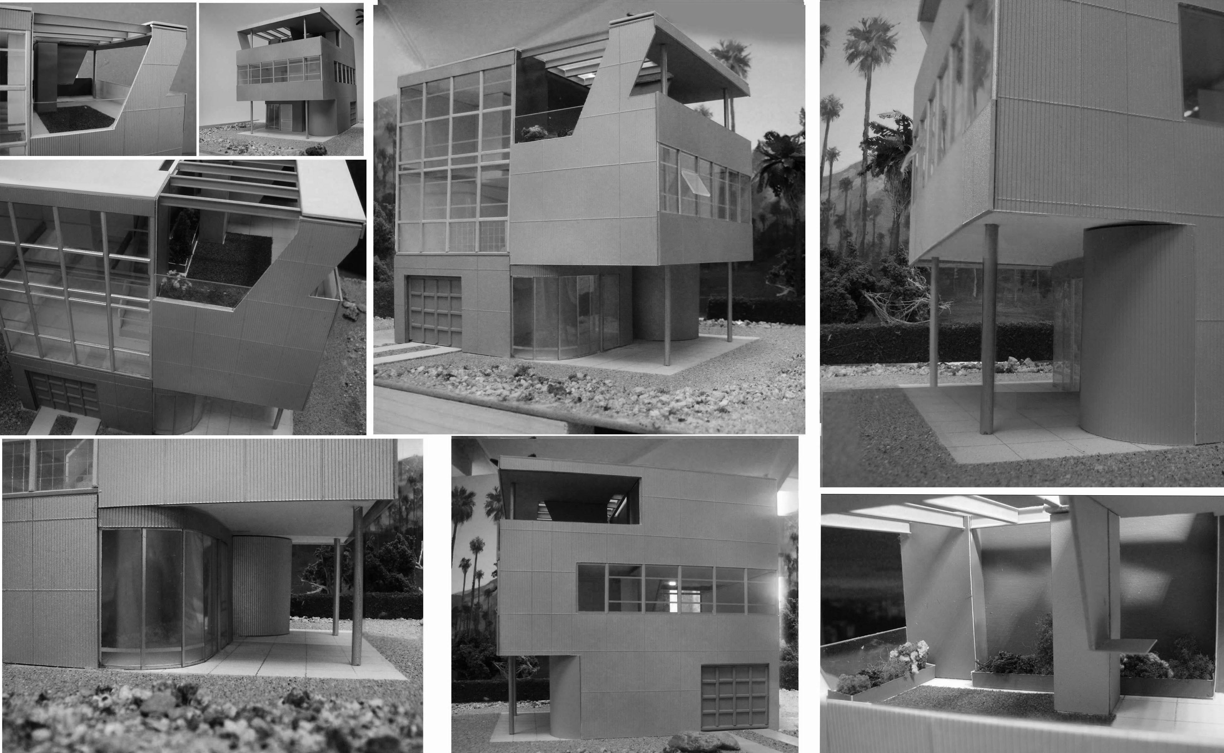 Aluminaire BW collage