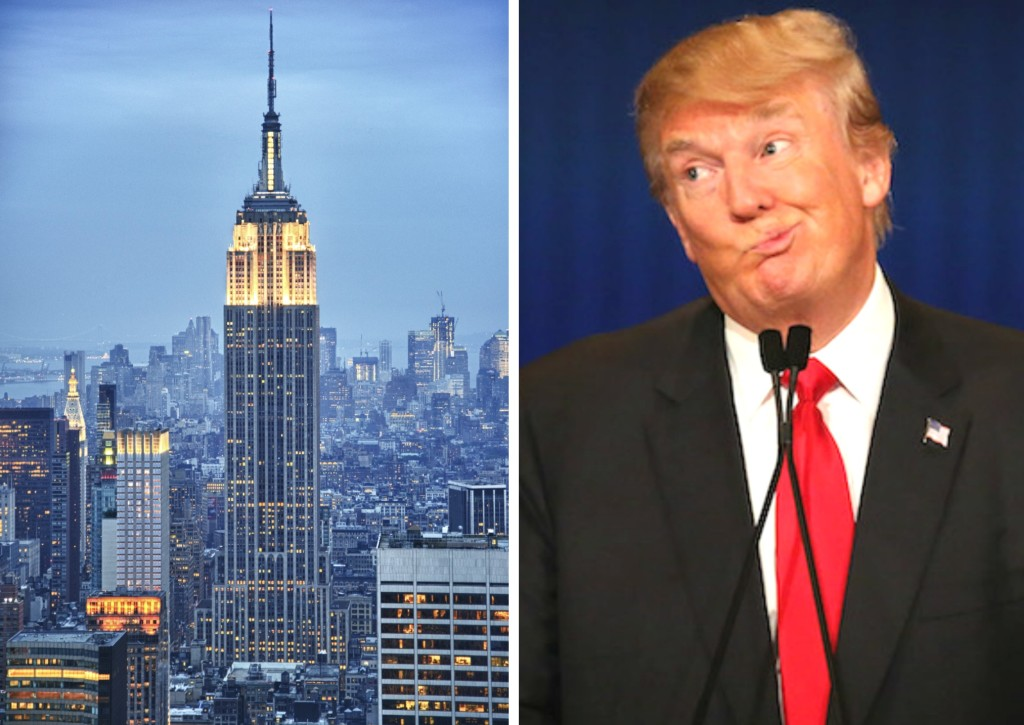 Empire State Building Owned By Trump