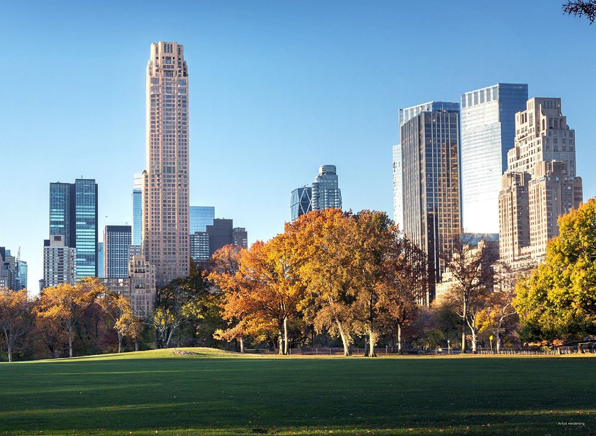 Ken Griffin drops another $4M on Central Park South condos after record $240M penthouse purchase