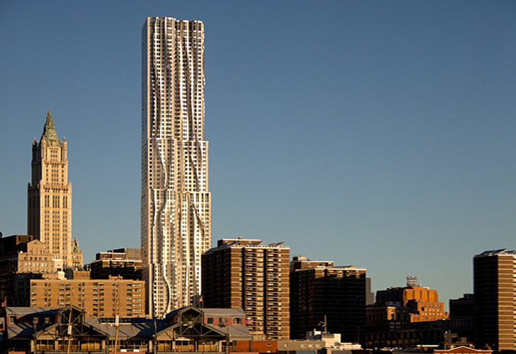 8 spruce street ny by gehry
