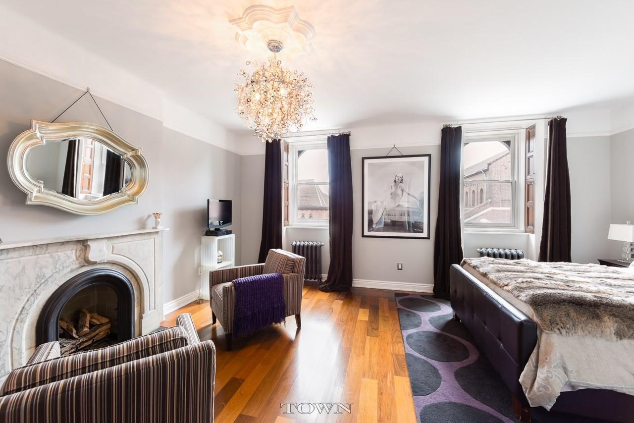 17 madison street, bedroom, bed-stuy, townhouse