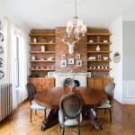 17 madison street, dining room, bed-stuy townhouse