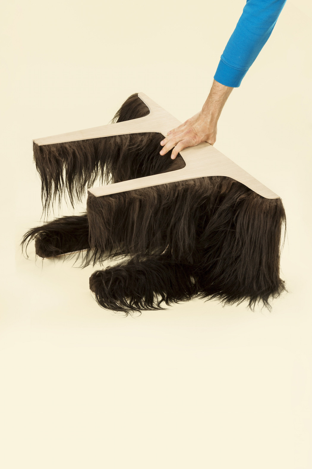 fifty fifty, fur table, karolina fardova