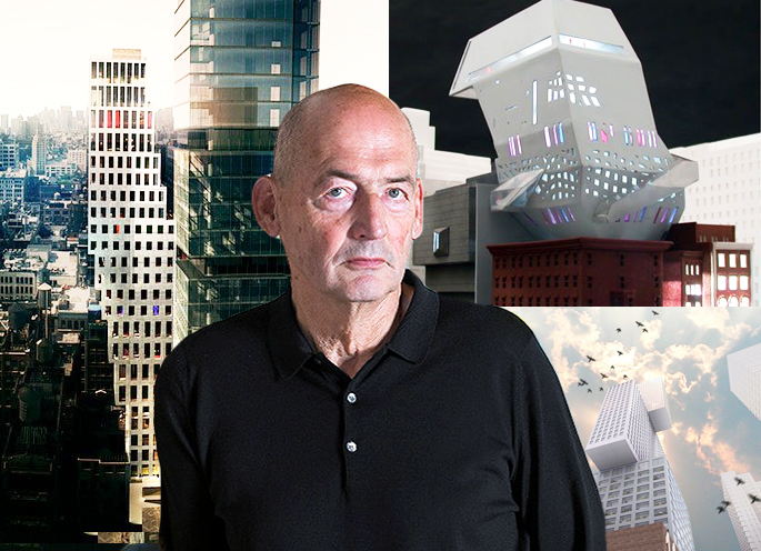 As Rem Koolhaas Finally Designs First NYC Building, A Look Back at His Unbuilt Proposals