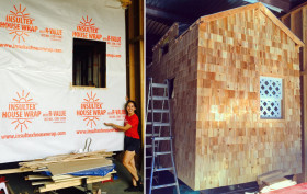 Miko Mercer, Brooklyn tiny house, tiny house movement