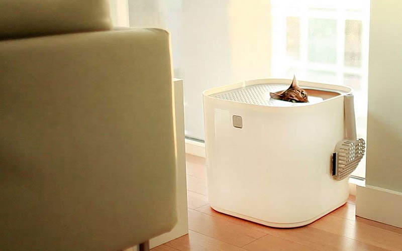 ModKat, litter box, cat litter box, top loader litter box