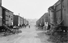 Boxcar Village, Spuyten Duyvil, Sarah J. Atwood, Hoovervilles