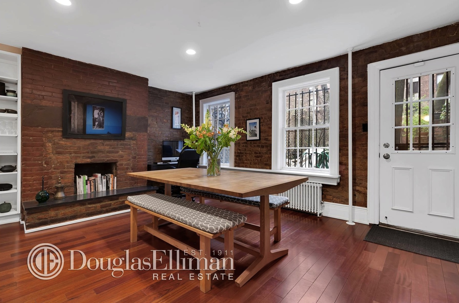 312 east 53rd street, dining room, townhouse