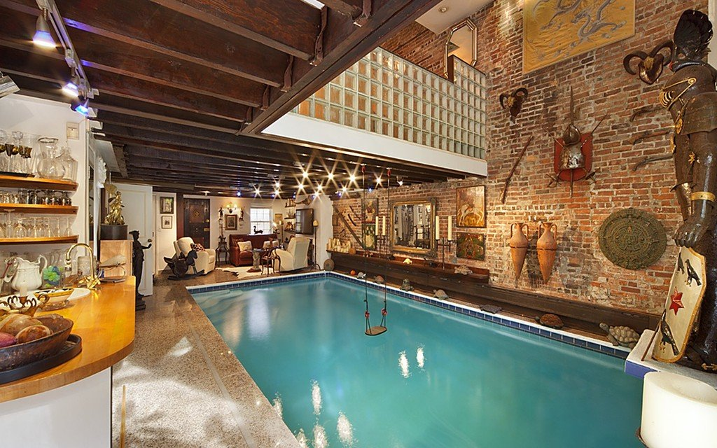 232 west 15th street cool listings chelsea swimming pool pool saltwater - Cool Pools With Waterfalls In Houses