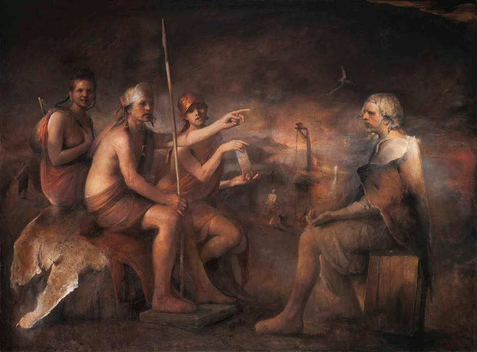 paul booth gallery, Crime & Refuge, Odd Nerdrum