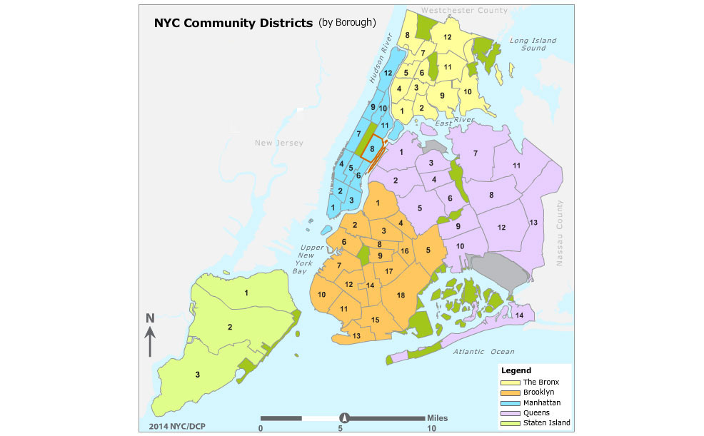 nyc school districts