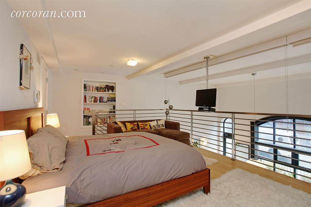 735 dean street, bedroom, loft, prospect heights, firehouse