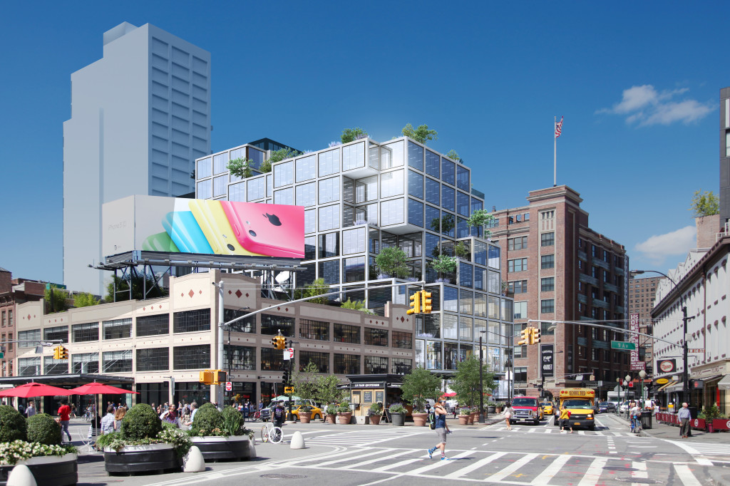 61 Ninth Avenue, Rafael Vinoly, Starbucks Reserve, Meatpacking District development