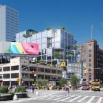 61 Ninth Avenue, Rafael Vinoly, Starbucks Reserve, Meatpacking District development