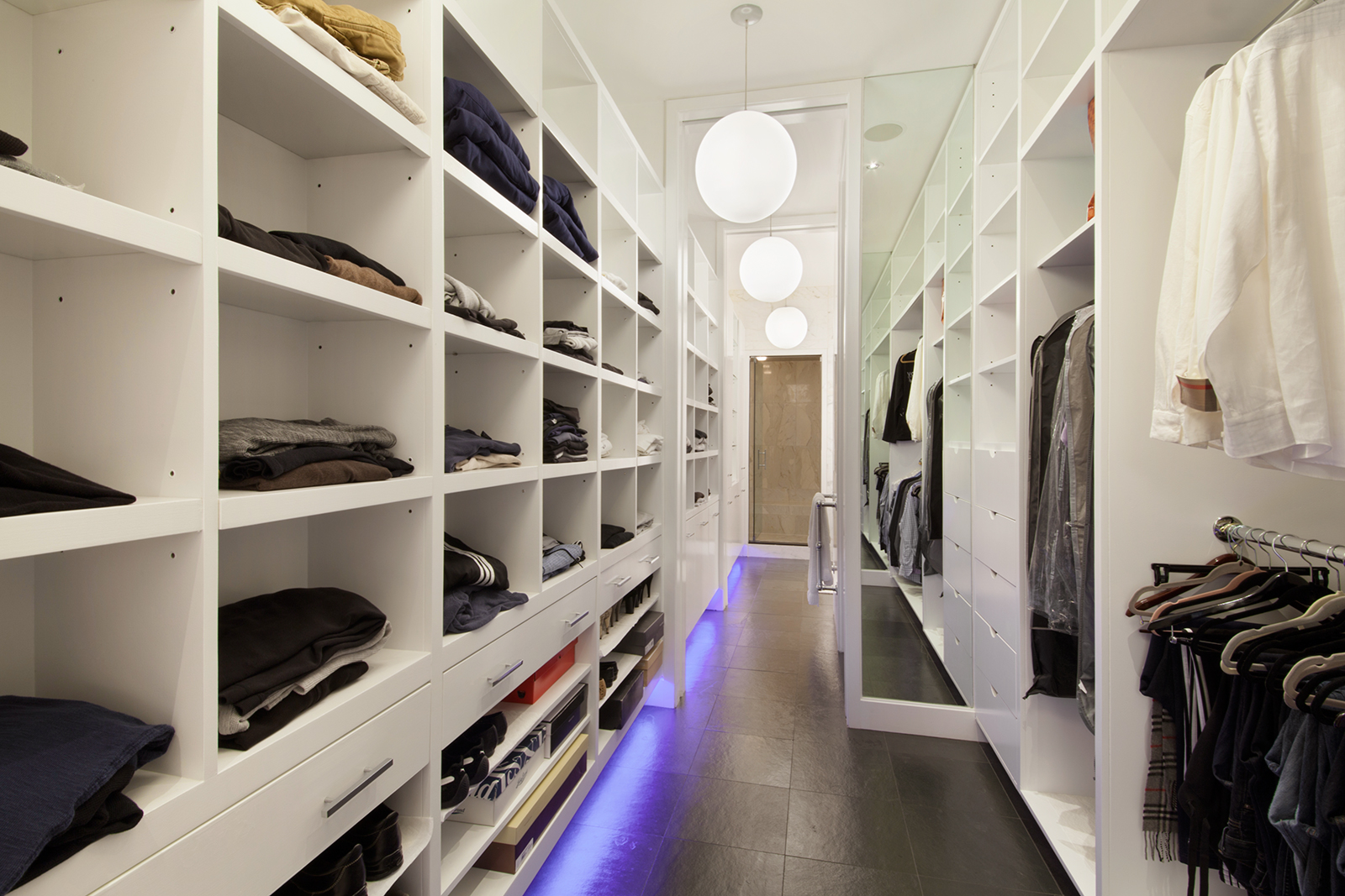 195 Hudson Street, walkin closet, tribeca, condo
