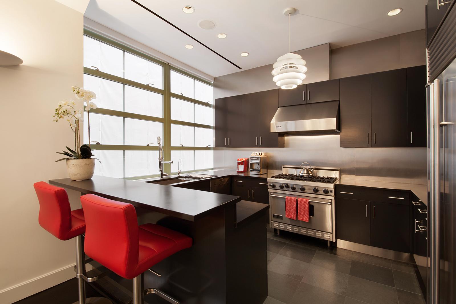 195 hudson street, kitchen, tribeca