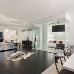 195 Hudson Street, tribeca, condo, living room