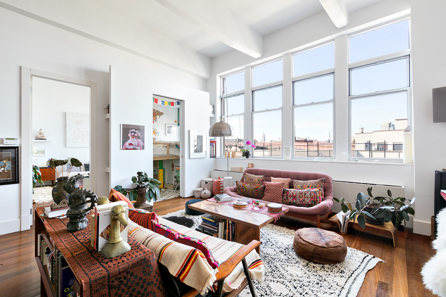 Nice The Living Room Williamsburg Part - 13: Lovely Williamsburg Loft In A Former Guitar Factory Seeks $1.55M