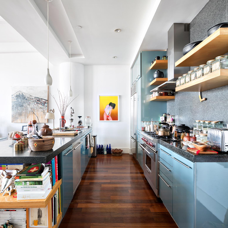 60 Broadway, kitchen, gretch, loft