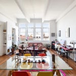 60 Broadway, loft, condo, williamsburg, living room