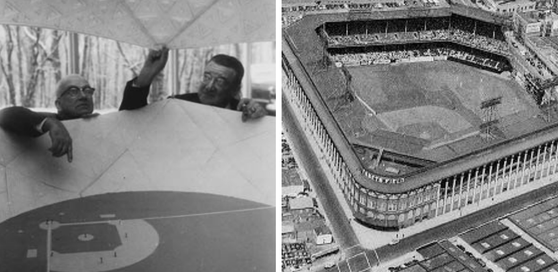 Buckminster Fuller, Walter O'Malley, Ebbets Field, Robert Moses, Brooklyn Dodgers