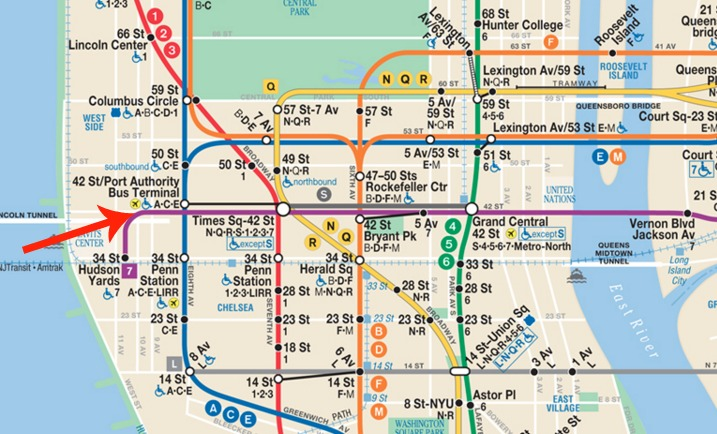 Mta Subway Map 7 Train.Mta Takes Steps To Open 7 Train Station At 10th Avenue 6sqft