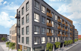 215 Freeman Street, 216 Freeman Street, StudiosC Architecture, Greenpoint development