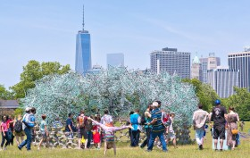 FIGMENT 2015, Figment Art Festival, Governors Island, Billion Oyster Project