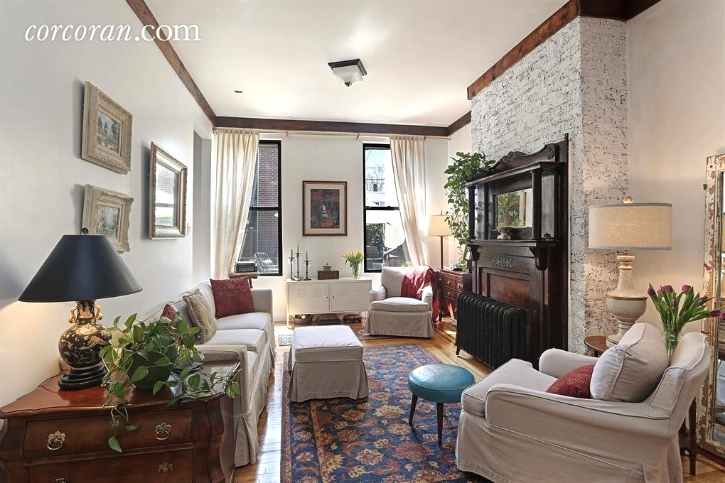 The Living Room Williamsburg Part - 22: Two Buildings And A Central Courtyard Make Up This $2.6M Williamsburg  Property