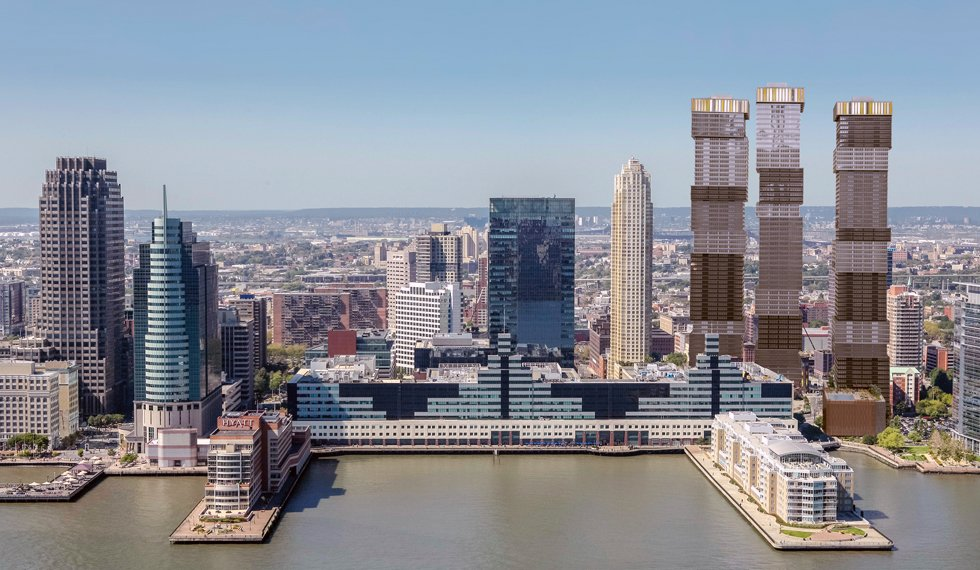 Skyline Wars New Jersey S Waterfront Transforms With A Tall Tower Boom 6sqft