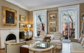 114 east 10th street, east village, living room, historic, townhouse