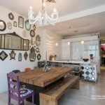 111 fulton street, dining area, open kitchen, tribeca