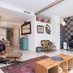 111 fulton street, living room, condo, financial district
