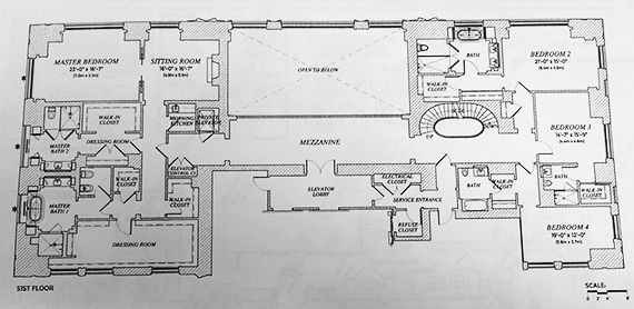220 Central Park South-penthouse-floorplan-2