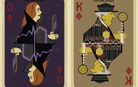 Federico Babina, Archicards, architecture playing cards, architecture cards