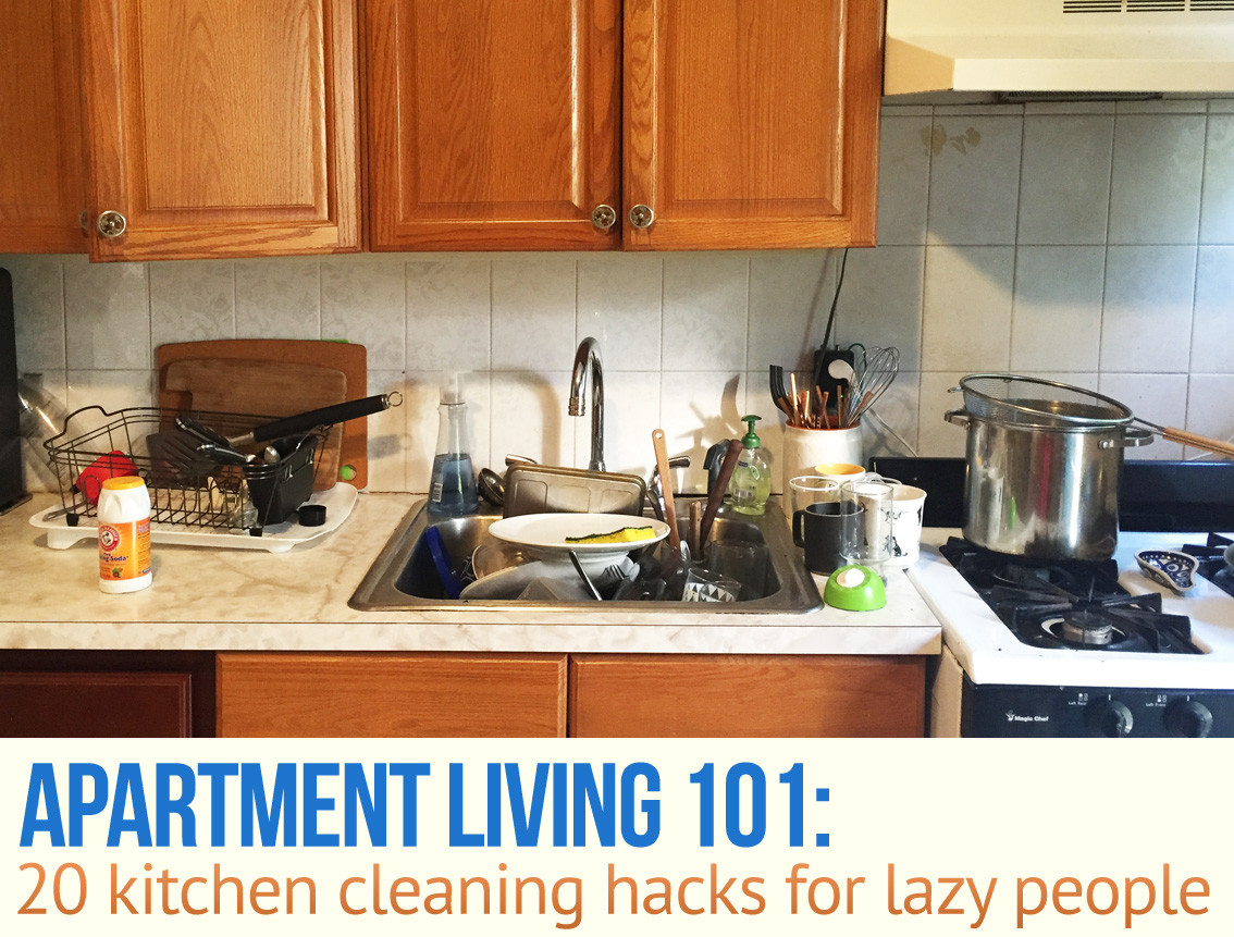 20 Kitchen Cleaning Hacks for Lazy People | 6sqft